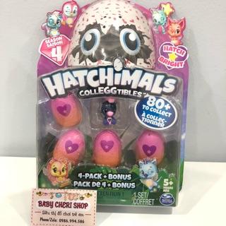 Hộp đồ chơi trứng hatchimals season 4