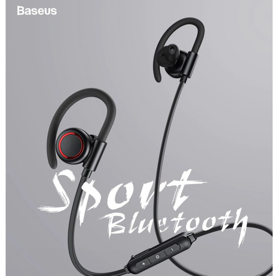 Tai nghe Bluetooth thể thao, chống ồn Baseus Encok S17 Sport Earphone  Bluetooth 5.0, Ear-hook, Noise Isolation,IPX5
