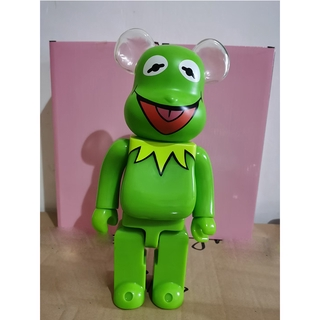 Jointly Kermit Frog Action Figure Toy 400% Street Fashion Bearbrick