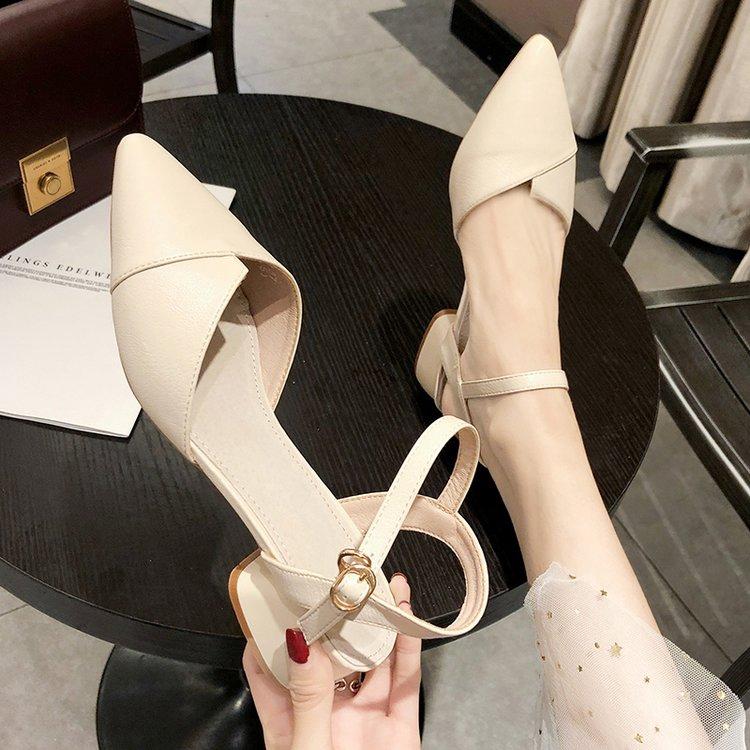 giày cao gót đế vuông xinh xắn dành cho nữ - 13895389 , 2740818936 , 322_2740818936 , 206900 , giay-cao-got-de-vuong-xinh-xan-danh-cho-nu-322_2740818936 , shopee.vn , giày cao gót đế vuông xinh xắn dành cho nữ