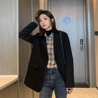 Áo Khoác Vest Form Rộng Phong Cách Hàn Quốc 2020 Cho Nữ