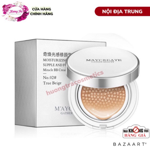 Phấn Nước BB Air Cushion Miracle Của Maycreate - 22234905 , 2731001474 , 322_2731001474 , 90000 , Phan-Nuoc-BB-Air-Cushion-Miracle-Cua-Maycreate-322_2731001474 , shopee.vn , Phấn Nước BB Air Cushion Miracle Của Maycreate