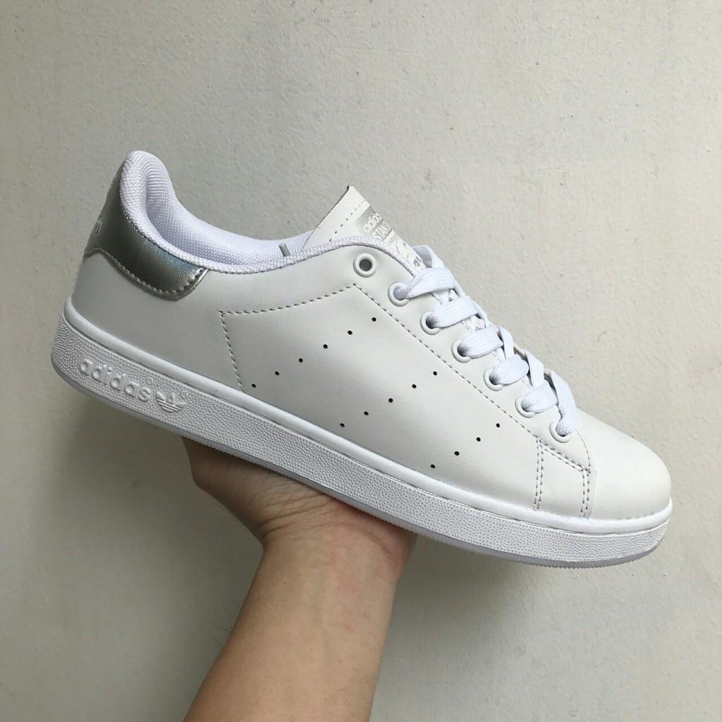 giày adidas STAN SMITH bạc