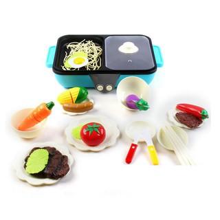 Đồ chơi Bộ nấu lẩu kèm đồ ăn (có âm thanh) cho bé