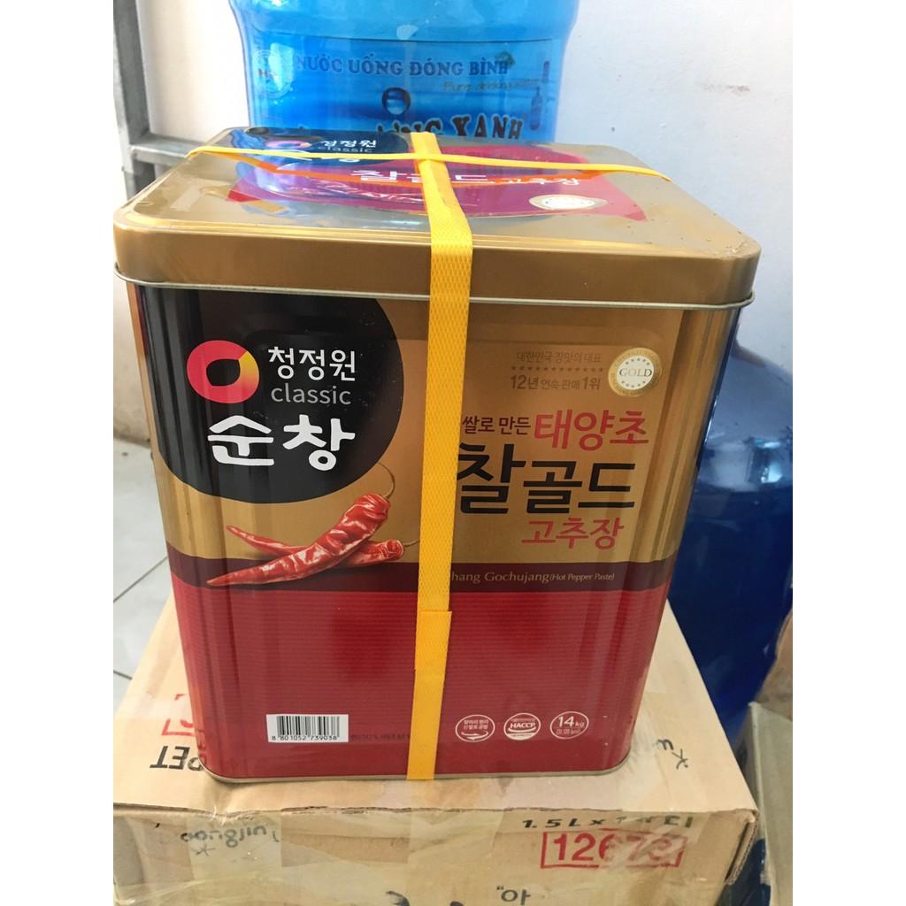 Tương ớt cao cấp Hàn Quốc 14kg Daesang 5*