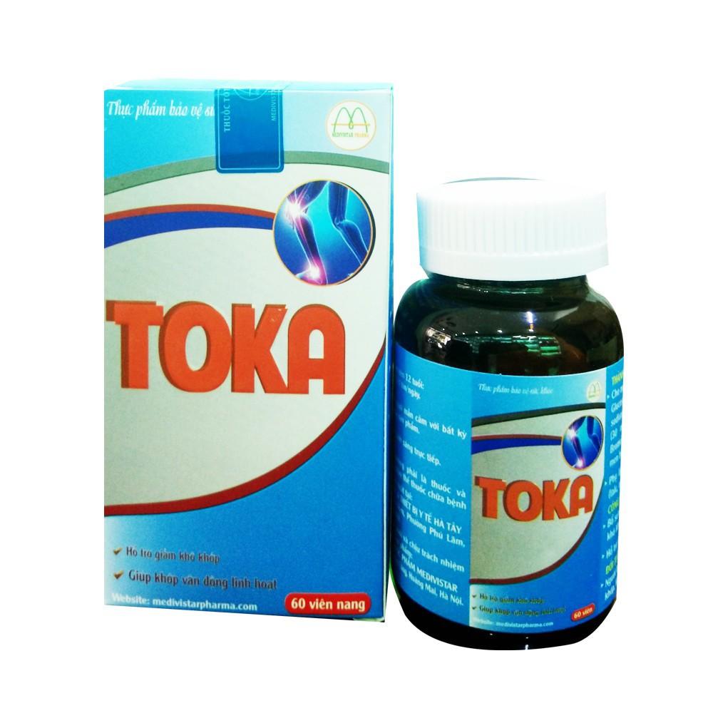 Hỗ trợ điều trị bệnh xương khớp hoàn toàn từ thảo dược TOKA