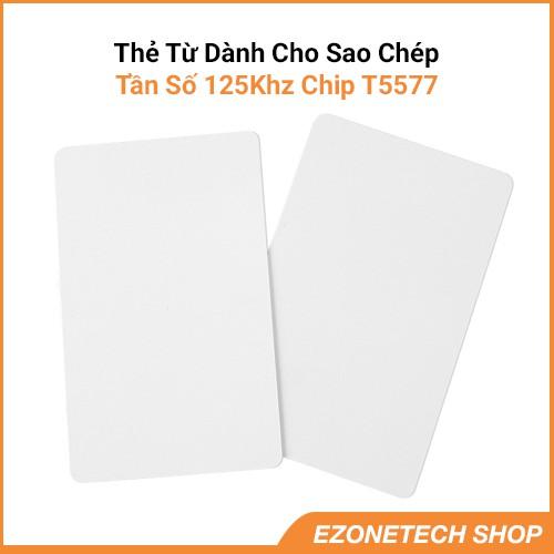Thẻ Từ RFID Tần Số 125Khz Chip T5577 Dành Cho Sao Chép Loại Mỏng