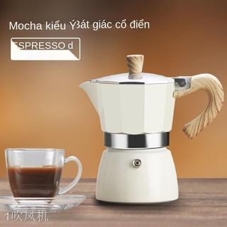 QBình pha cà phê gia dụng Moka pot của Ý Máy pha cà phê espresso cầm tay của Ý Bộ bình lọc nhỏ giọt c thumbnail