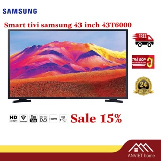 Smart Tivi Samsung 43 inch UA43T6000 Mới 2020