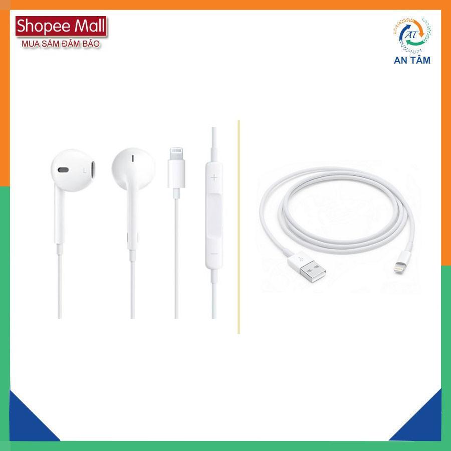 Combo Tai nghe và cáp sạc iPhone 6P/6s Plus - 2626940 , 394489158 , 322_394489158 , 450000 , Combo-Tai-nghe-va-cap-sac-iPhone-6P-6s-Plus-322_394489158 , shopee.vn , Combo Tai nghe và cáp sạc iPhone 6P/6s Plus