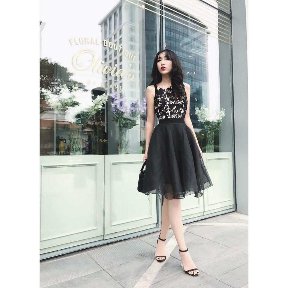 Đầm váy xòe ren cao cấp