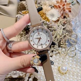 [Mã FASHIONRNK giảm 10K đơn 50K] Đồng hồ nữ DACR Mashali hàng chính hãng dây da sang trọng thumbnail