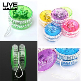 LIVE Light Up C-lutch Mechanism Toy Speed Ball Return Top Yo-Yo