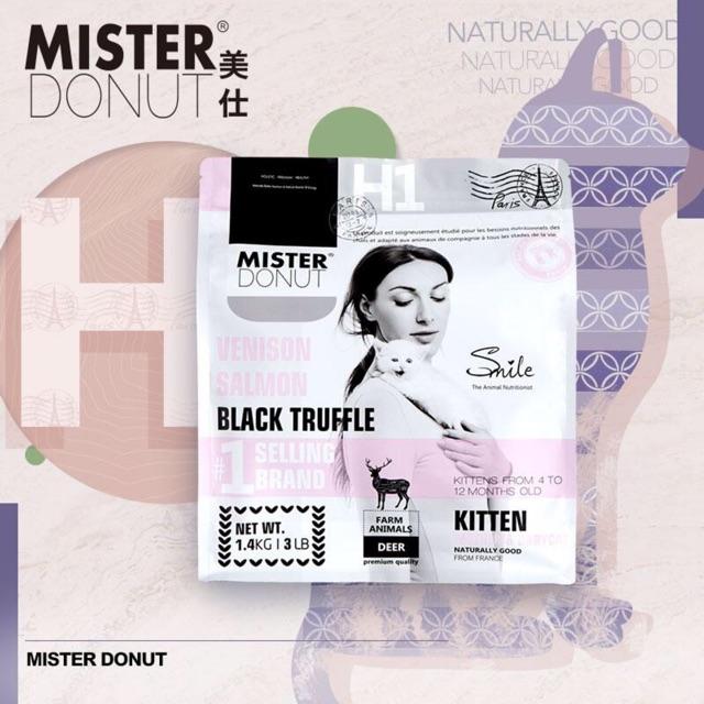 [Mã 267FMCGSALE giảm 8% đơn 500K] Thức ăn cho mèo Mister Donut - H Series