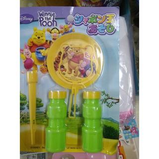[TẾT SALE HẾT] Bộ thổi bong bóng xà phòng gấu Pooh Nhật Bản