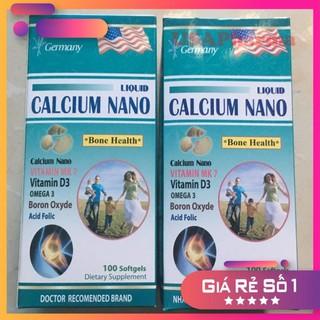Liquid Canxi Nano bổ sung canxi, phòng ngừa loãng xương