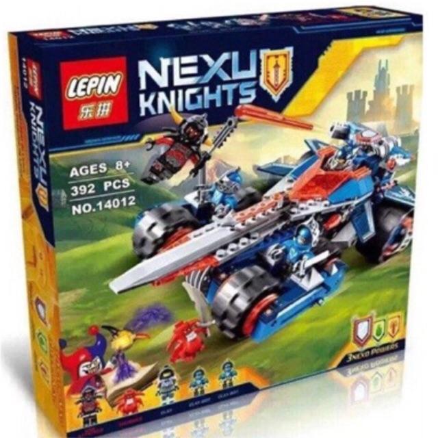 Lego nexo 14012- Chiến xa lưỡi dao của Clay 392 khối