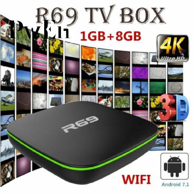 [Mã FSS09JAN hoàn 20% XU đơn từ 0đ]R69 Android 7.1 Smart TV Box 1GB+8GB Quad Core WIFI H.265 4K Video Media Player - 23074019 , 2622375883 , 322_2622375883 , 471000 , Ma-FSS09JAN-hoan-20Phan-Tram-XU-don-tu-0dR69-Android-7.1-Smart-TV-Box-1GB8GB-Quad-Core-WIFI-H.265-4K-Video-Media-Player-322_2622375883 , shopee.vn , [Mã FSS09JAN hoàn 20% XU đơn từ 0đ]R69 Android 7.1