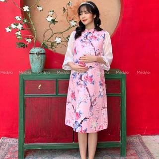 MEDYLA - Váy bầu xinh cách tân cho mẹ bầu tự tin diện tết - VS562 thumbnail