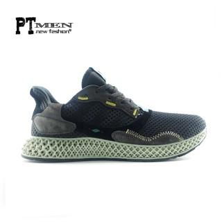 [video+ảnh thực] Giày Sneaker ZX 4000 4D Carbon black