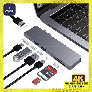 HUB adapter chuyển đổi 7-in-1 WIWU T8 hỗ trợ Macbook thumbnail