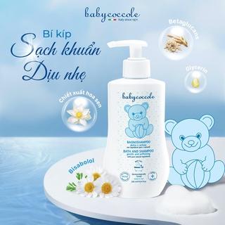 Hình ảnh Sữa tắm gội cho bé Babycoccole 0M+ an toàn cho trẻ sơ sinh & em bé chiết xuất hoa sen 250ml/400ml-2