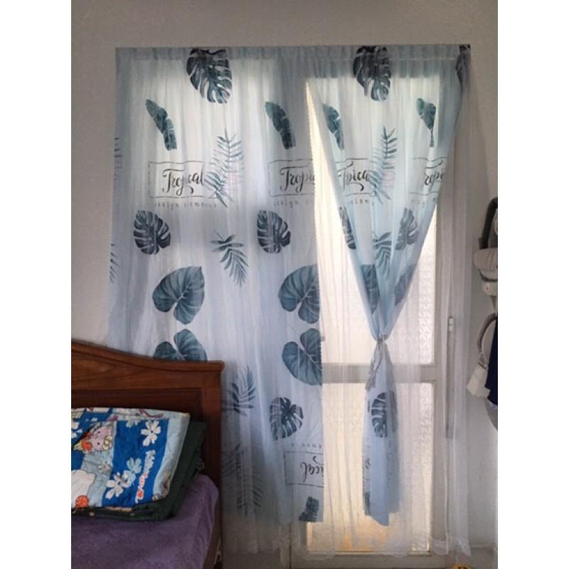 (RÈM SỈ) Rèm cửa sổ, cửa chính - Rèm che nắng dán phòng ngủ  -  Rèm cửa sổ, Vách ngăn phòng, xinh xinh, tiện lợi