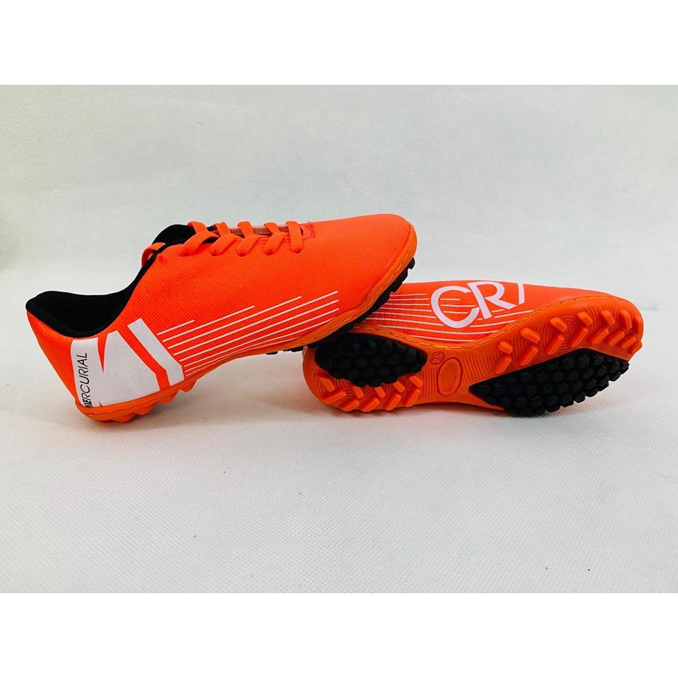 [ĐÃ KHÂU ĐẾ] Giày bóng đá trẻ em đế mềm, Giày bóng đá cr7, Giày đá banh nữ
