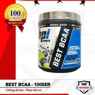 Bcaa Chống Dị Hóa Cơ Bắp Best bcaa 100ser 1.2kg – Bpi Sports – Chính hãng