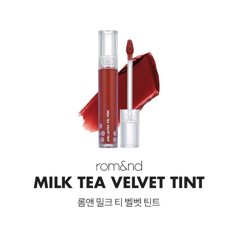 [Chính Hãng]Son Kem Lì, Mịn Mượt Như Nhung Romand Milk Tea Velvet Tint