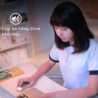 Hình ảnh Chuột không dây Bluetooth tự sạc pin SIDOTECH M1P không tiếng click sạc 1 lần dùng 1 tuần cho Laptop macbook PC Tivi-5