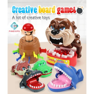 Ready Stock!!! Classic Biting Hand Game for Kids Family Game