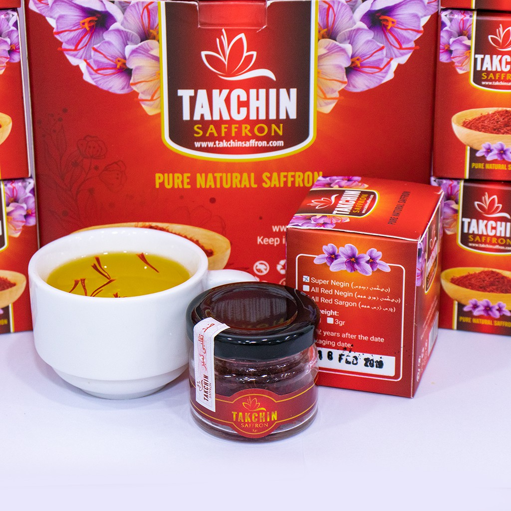 Nhuỵ Hoa nghệ Tây Saffron Takchin [ Chính Hãng - Nhập Khẩu IRAN ]