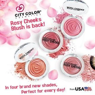 Má hồng Rosy Cheeks Blush City Color - 4 màu thumbnail
