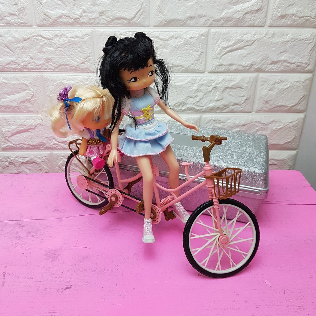 Xe đạp đôi cho búp bê nhỏ - Phụ kiện