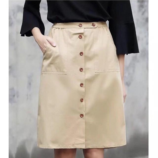 Chân váy khuy hàng Quảng Châu(# 902)