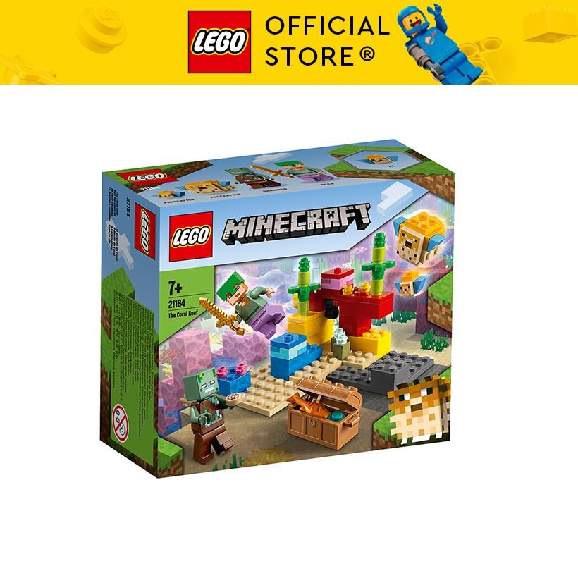 LEGO MINECRAFT 21164 Rạn San Hô ( 92 Chi tiết)