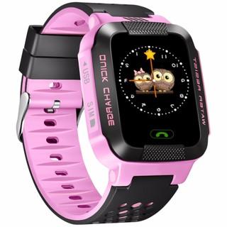 Đồng hồ định vị trẻ em GPS Tracker Y21G mới nhất (Hồng) thumbnail