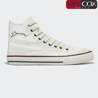 Giày Sneaker Dincox Unisex D21 Hi White thumbnail