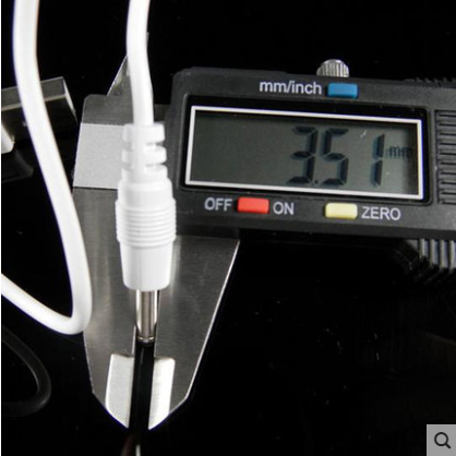 Dây Cáp Sạc Usb Đầu Tròn 3.5mm Dc5V