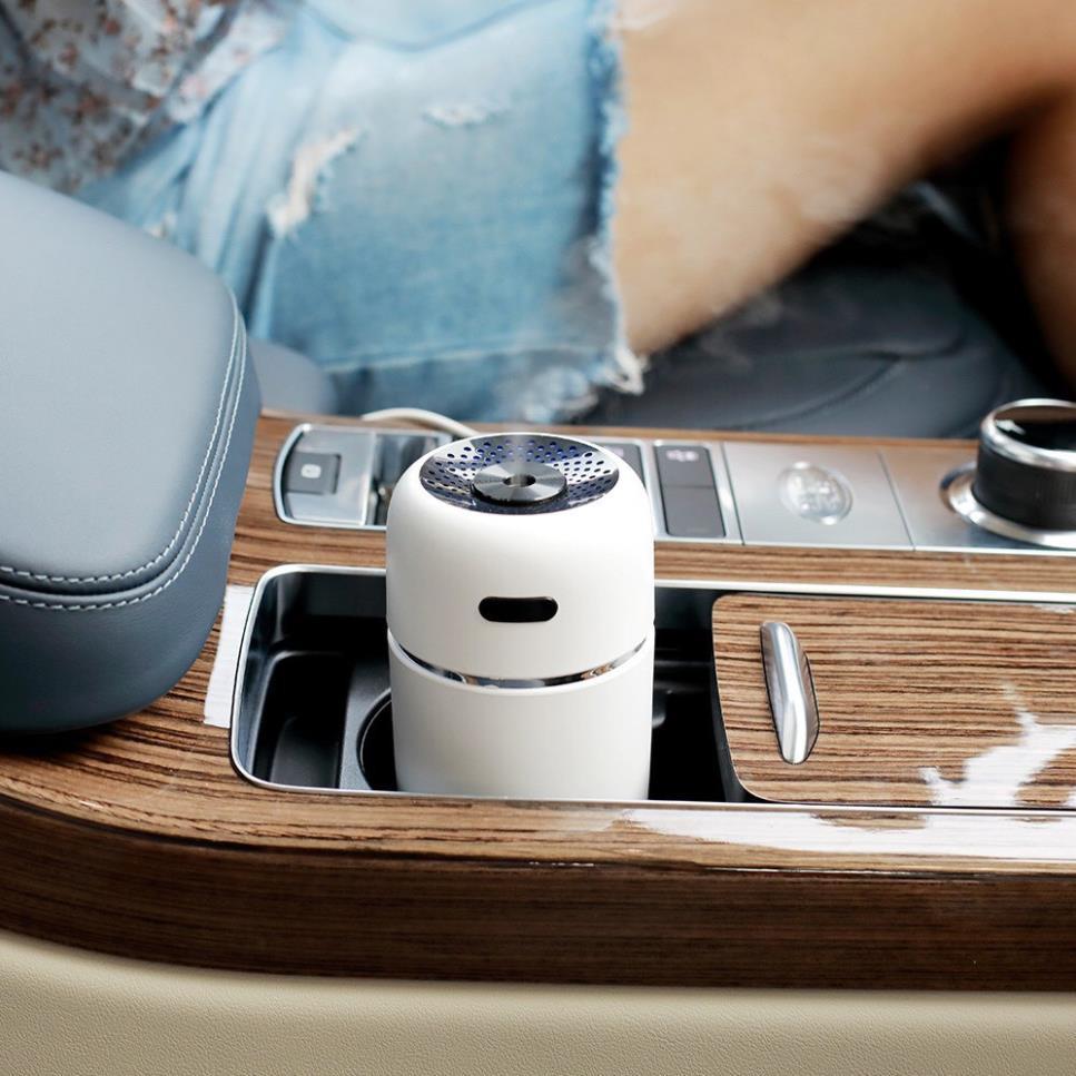 Máy phun tinh dầu khử mùi xe hơi, phun sương tạo ẩm và khuếch tán tinh dầu, Khử mùi trên Ô tô