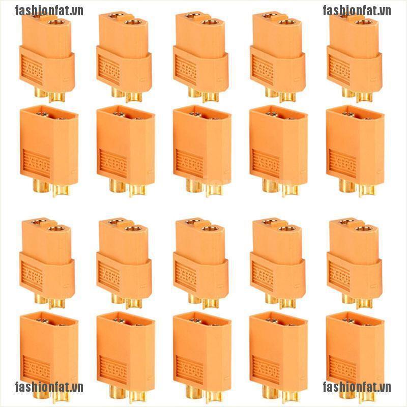 20 Phích cắm kết nối XT60 Male Female cho pin Lipo RC