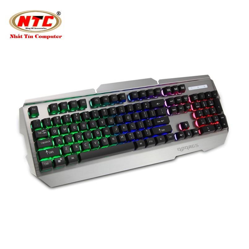 Bàn phím giả cơ chuyên game Rdrags R500 Led 7 màu (Đen) - 2515734 , 1202204958 , 322_1202204958 , 388000 , Ban-phim-gia-co-chuyen-game-Rdrags-R500-Led-7-mau-Den-322_1202204958 , shopee.vn , Bàn phím giả cơ chuyên game Rdrags R500 Led 7 màu (Đen)