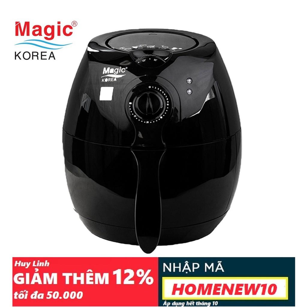 Nồi chiên không dầu Magic Korea A70 New - Đen