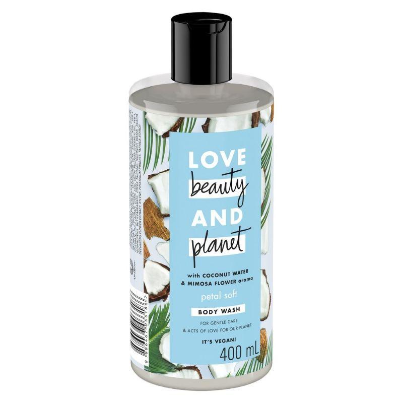 Sữa tắm dưỡng ẩm dịu nhẹ thanh mát Love Beauty And Planet Petal Soft 400ml