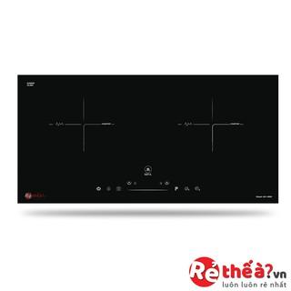 Bếp điện từ đôi lắp âm MIFA IH2-VA06 - Công nghệ Inverter tiết kiệm điện và Booster đun nấu siêu tốc - Tặng bộ nồi xịn
