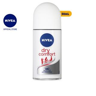 Lăn ngăn mùi Nivea khô thoáng, mịn màng 50ml – 81611
