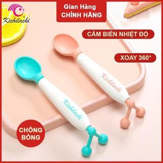 Thìa Ăn Dặm Cảm Biến Nhiệt Kichilachi Cho Bé thumbnail