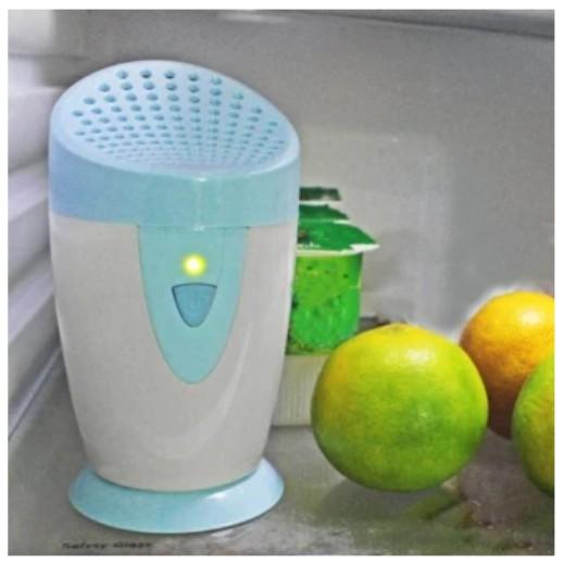 Máy lọc không khí, làm trong sạch, khử mùi trên xe hơi, trong tủ lạnh JO-6706 ( Xanh dương)