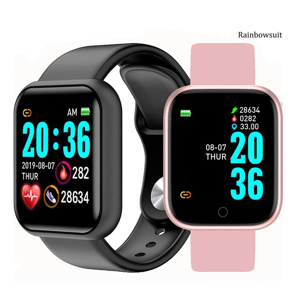 Đồng Hồ Thông Minh Rb-d20 Kết Nối Bluetooth Theo Dõi Sức Khỏe Kèm Phụ Kiện